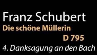 D 795 no 4 Danksagung an den Bach