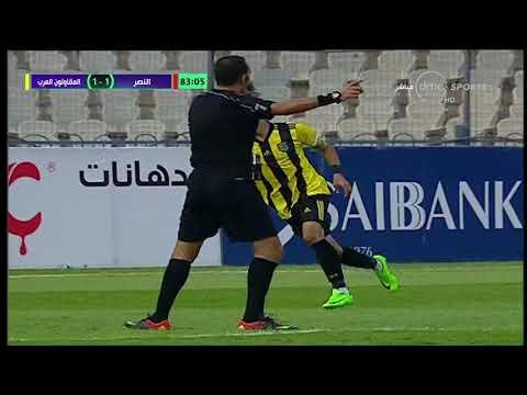 المقاولون العرب  يواصل عروضه الرائعة ويفوز على  النصر 2-1 + 90 الدورى المصرى 28-9-2017
