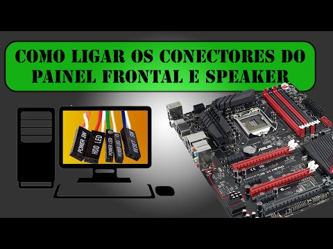 Como ligar os conectores do PAINEL FRONTAL, USB 2.0 e Speaker [Detalhado]