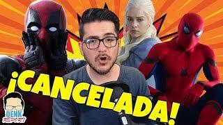 ¡Deadpool 3 cancelada! - Primer tráiler de Spider-Man: FFH - Netflix sube de precio | QR