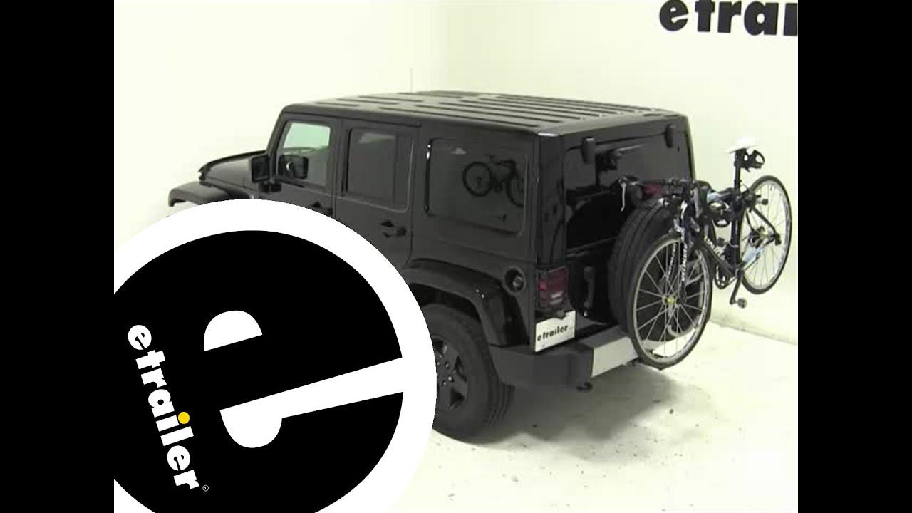Etrailer Thule Spare Me Spare Tire Mount Bike Rack