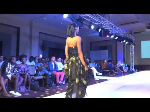 Afre Anko dress at Ghana Fashion & Design Week