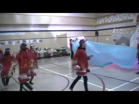 Закрытие Года языков народов мира. Танец Северное сияние