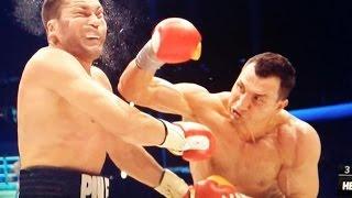 Кличко - Пулев: Лучшие моменты. Klitschko - Pulev. best moments