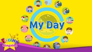 "Http://www./user/englishsingsing9 kids vocabulary - my day daily routine learn english for educational video this ""kids vocabul..."
