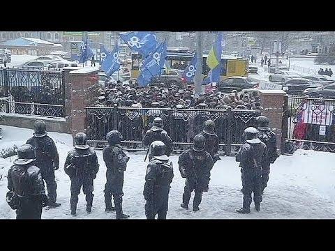 Libération d'une partie des manifestants arrêtés le 1er décembre à Kiev