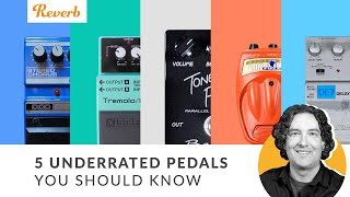 Andy Picks 5 Totally Underrated Effects Pedals   Reverb Tone Report
