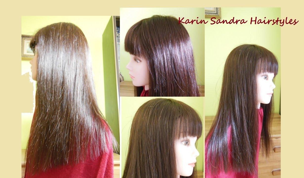 Long One Length Bob Haircut