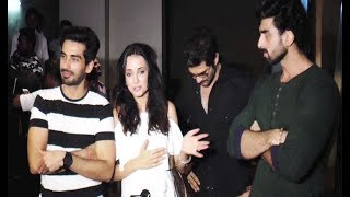 Sanaya Irani At Barun Sobti Movie 'Tu Hai Mera Sunday' Special Screening