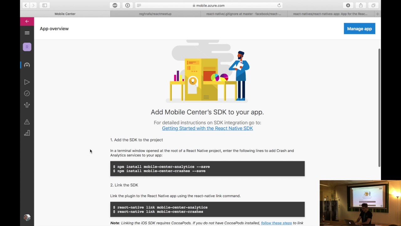 Rafael Regh: React Native build Automation & UI Testing with Visual Studio  Mobile Center