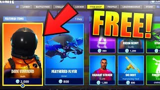 """NEW"" ""Dark Vanguard"" FOR FREE in Fortnite Battle Royale! FREE NEW SKINS IN FORTNITE!"