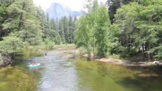 Stand Up Paddle Boarding in Yosemite National Park