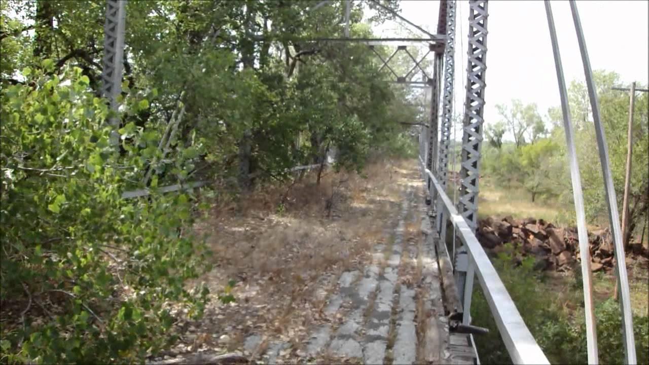 Abandoned 1920's Newcastle Bridge Oklahoma - YouTube
