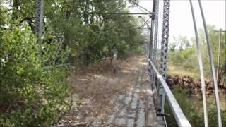 Abandoned 1920's Newcastle Bridge Oklahoma