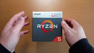 Unbox y Detalles Completos AMD Ryzen 5 2400G APU Con Gráficos Radeon Vega 11