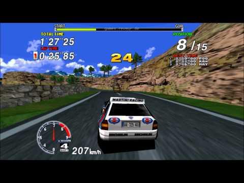 Sega Rally Championship 1994: Lancia Delta Integrale Gameplay