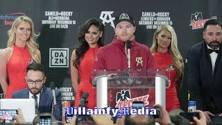 CANELO ANALYZES HIS 2 & A HALF ROUND DISMANTLING OF FIEDLING; TALKS FUTURE AT 168LB