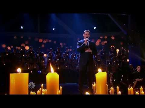 Michael Bublé sings with Coastal Sound Children's Choir at Christmas Special 2013