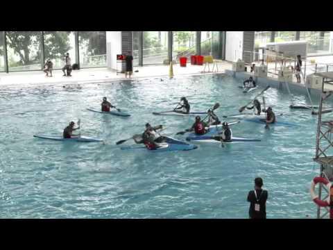 Asian Canoe Polo Championships,2015 (Game 3-7, Men) Japan Vs Malaysia