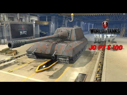 JG PZ E100 - World of Tanks Blitz