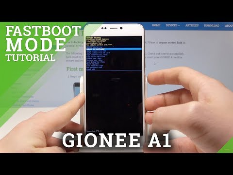 How To Enable Fastboot Mode In GIONEE A1 - Exit Fastboot Mode