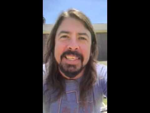 The Foo Fighters uploaded this video in response to Rockin1000