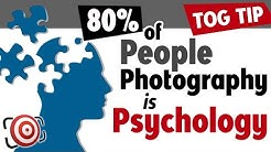 80% of Portrait Photography is Psychology – Techniques for Photographing People