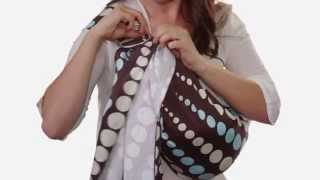 How to Cradle Carry with a Ring Sling (Newborn hold)