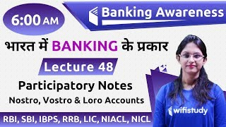 6:00 AM Banking Awareness by Sushmita Ma'am | Participatory Notes