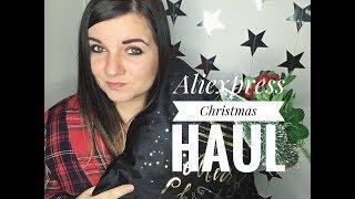 Christmas Aliexpress Haul l Nákupy z Aliexpressu l Vánoční Edice + SOUTĚŽ