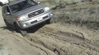 sequoia 4x4 in gorman