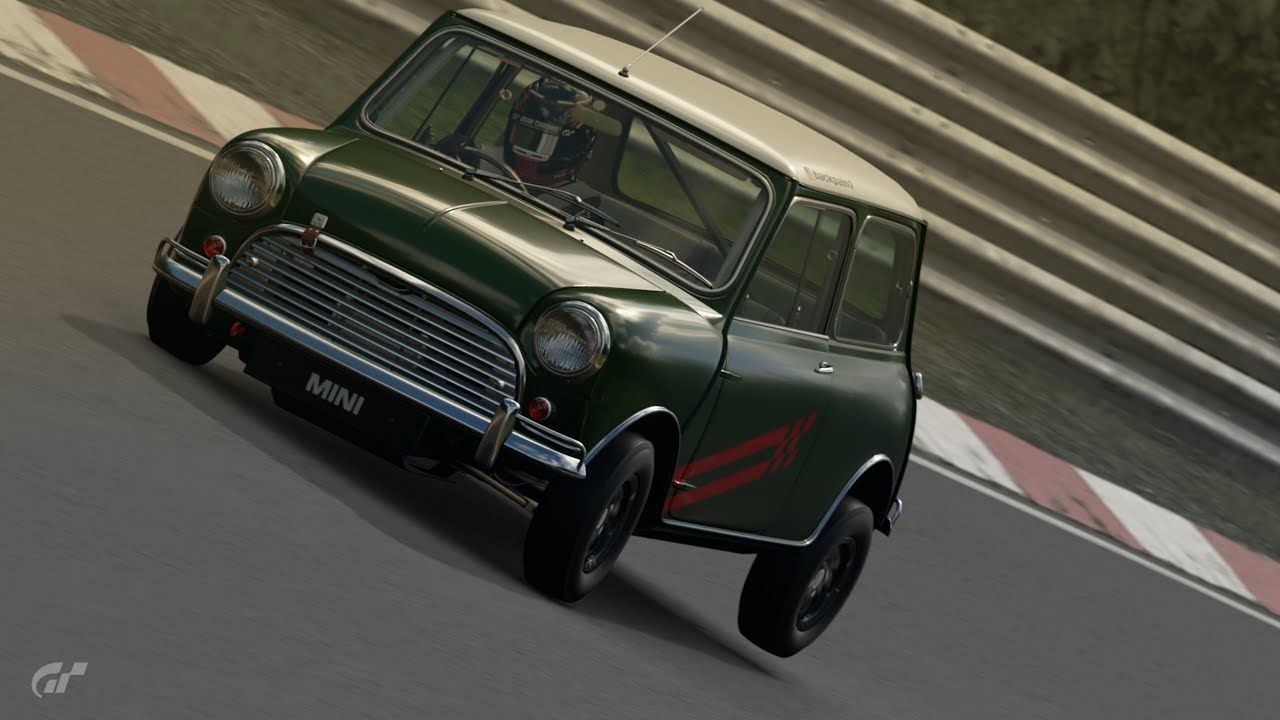 Gt Sport Mini Cooper S Nurburgring Lap 807755tune Youtube