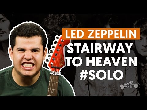 Stairway To Heaven - Led Zeppelin (How to Play - Guitar Solo Lesson)