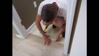Installing LVP Planks Around Door Jambs