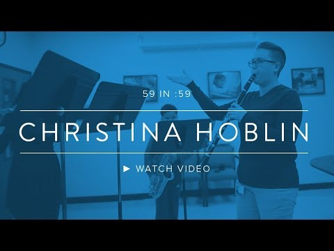 Christina Hoblin 59 in :59
