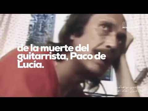 Hace 5 años nos dejaba Paco de Lucía, un minuto con detalles de su figura...