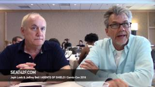 Jeph Loeb & Jeffrey Bell AGENTS OF SHIELD Interview Comic Con 2016