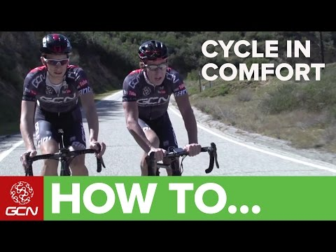 How To Be More Comfortable On Your Road Bike