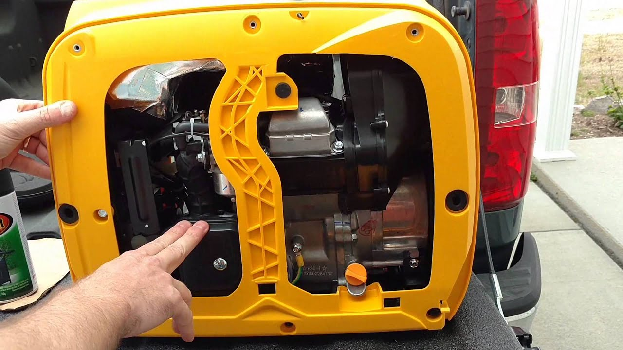 How to prepare a portable generator for our sailboat