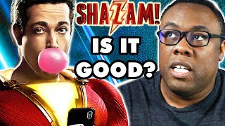 SHAZAM! Movie Review ⚡  Good, Bad & Nerdy