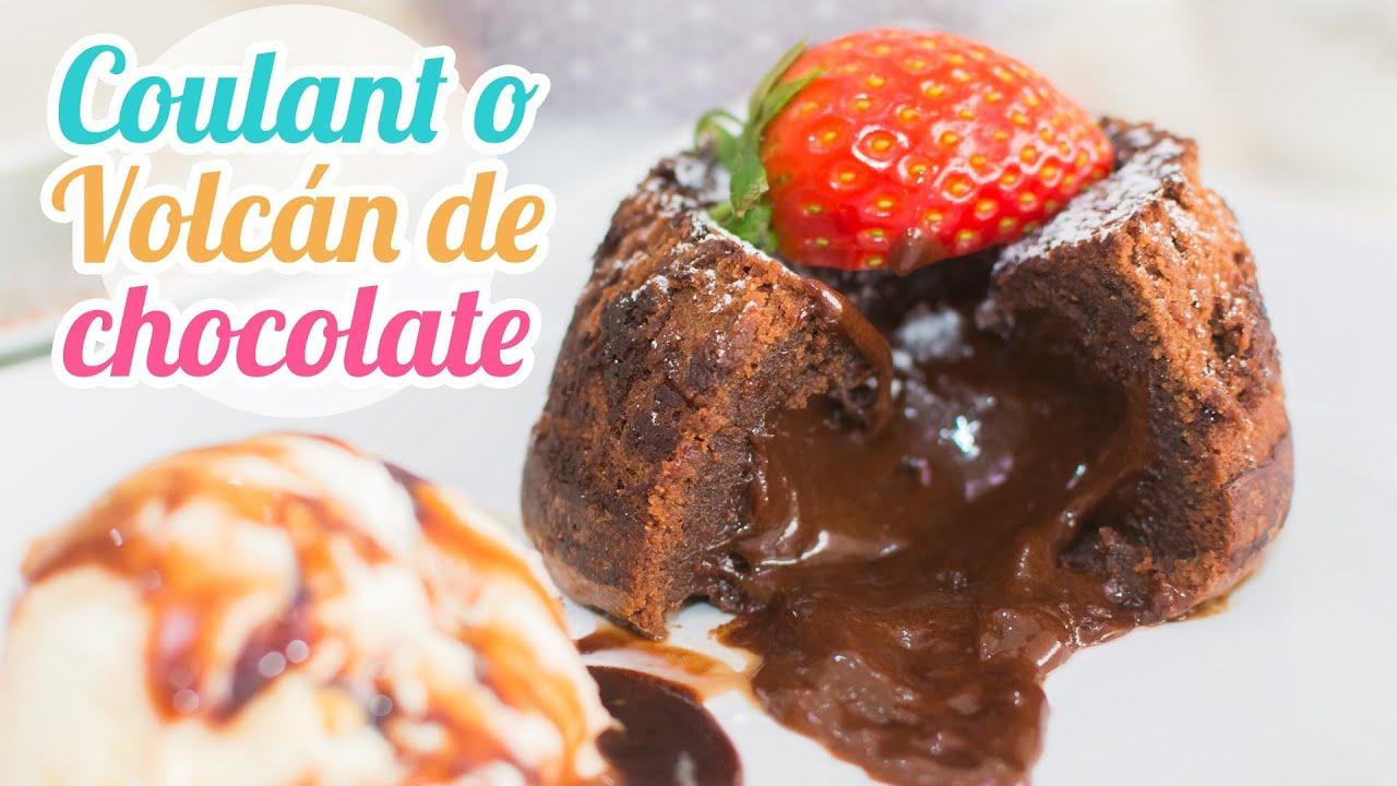 Coulant ó Volcán de chocolate - Acomerpe.com