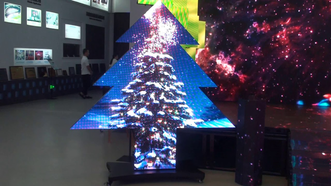 Christmas Tree Led Screen From YESTECH