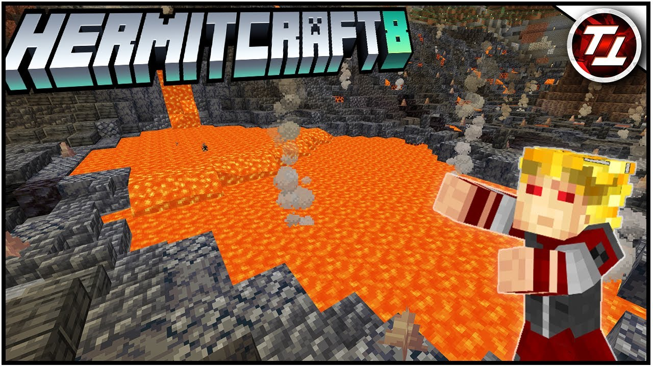 FiFi's Cave & Iron Farm Fixes - Hermitcraft 8: #15