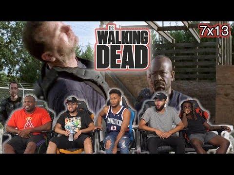 "The Walking Dead Season 7 Episode 13 ""Bury Me Here"" ReactionReview"