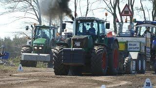 Fendt 818, 820, 828, 924, 930, 936 & 939 Vario Pulling The Heavy Sledge | Tractor Pulling DK
