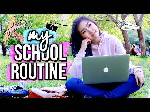 My School Routine/Day In My Life at NYU | JENerationDIY