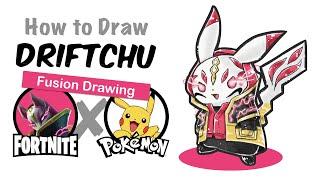 [Fortnite] Peau de dérive et Pikachu Fortnite Pokemon Mashup Dessin (fr) Comment dessiner Drift