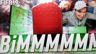 On PACK 1 des MEILLEURS JOUEURS du MONDE !!! Pack Opening & SBC FUTMAS ! FIFA19