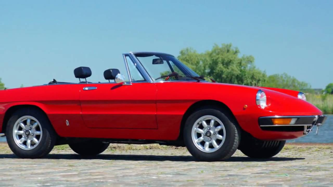 1978 alfa romeo 2000 spider (hd photo video with stereo engine