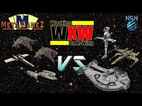 X-Wing Game Night Kit | Round 2 - Z-Y-Kiraxz (x2) vs Dash-X-B